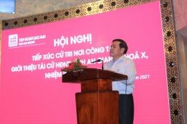 Tập đoàn Sao Mai tổ chức hội nghị hiệp thương tiếp xúc cử tri nơi công tác